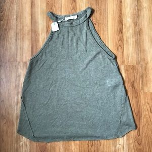 Michelle by Commune Olive Green Top Sz XS